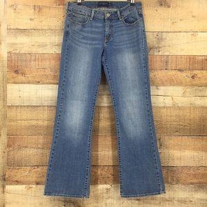 Levis slight curve boot cut jeans